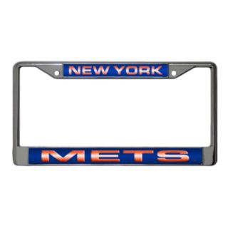 New York Mets Metal License Plate Frame