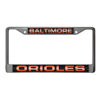 Baltimore Orioles Metal License Plate Frame