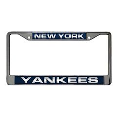 New York Yankees Metal License Plate Frame