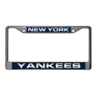 New York Yankees Metal License Plate Frame