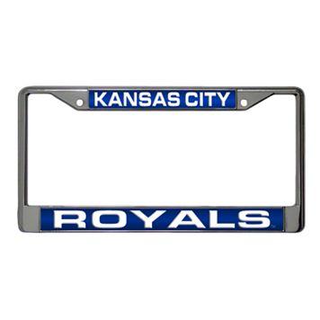 Kansas City Royals Metal License Plate Frame