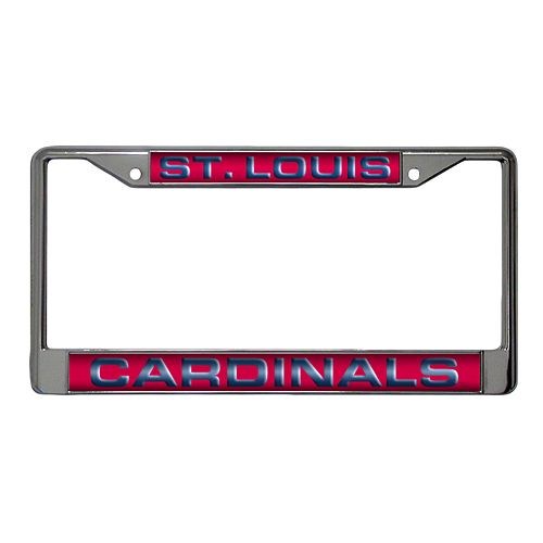 St. Louis Cardinals Metal License Plate Frame