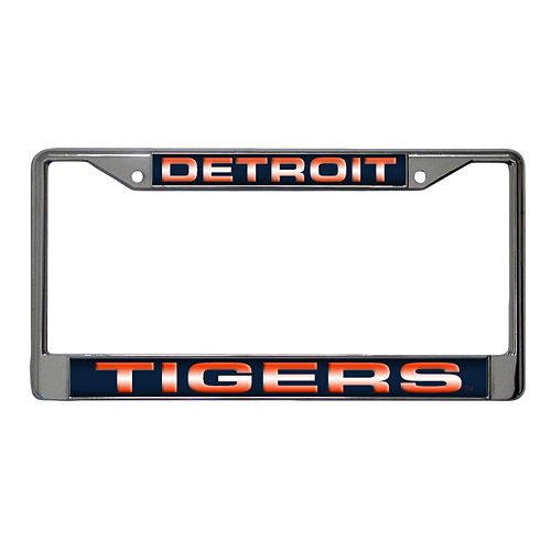 Detroit Tigers Metal License Plate Frame