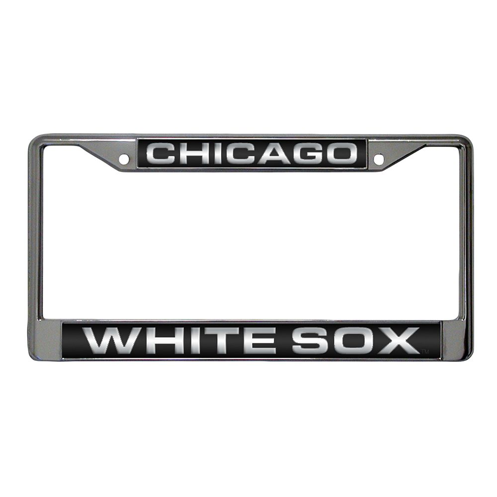 chicago white sox metal license plate frame - Metal License Plate Frames