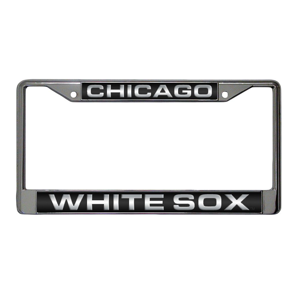 Chicago White Sox Metal License Plate Frame