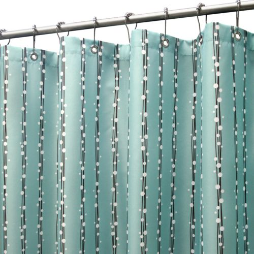Park B. Smith Bubbles on a String Stall Fabric Shower Curtain - 50'' x 78''