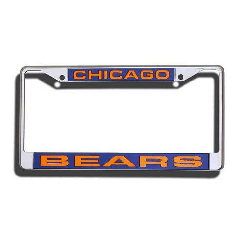 Chicago Bears License Plate Frame