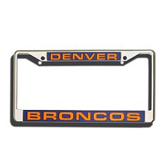 Denver Broncos License Plate Frame