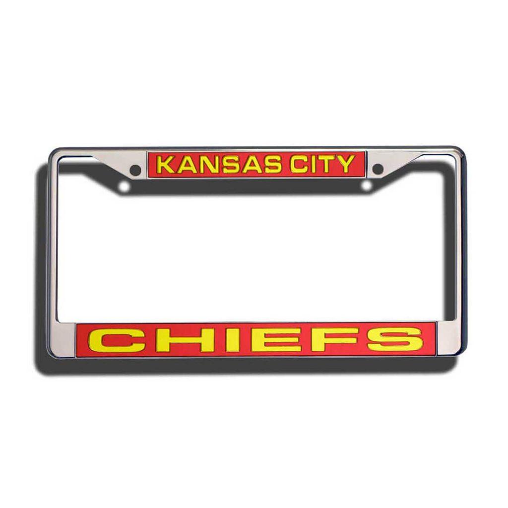 Kansas City Chiefs License Plate Frame