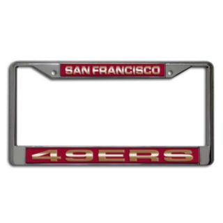 San Francisco 49ers License Plate Frame