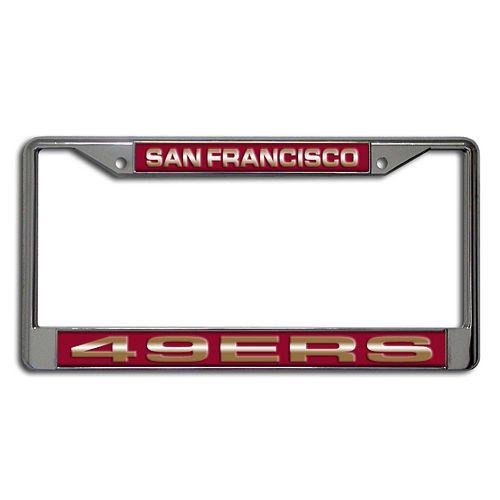 San Francisco 49ers License Plate Frame