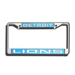 Detroit Lions License Plate Frame