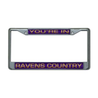Baltimore Ravens License Plate Frame