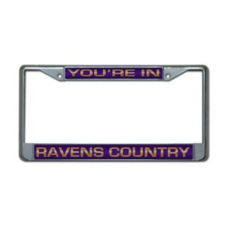 Baltimore Ravens License Plate Frame