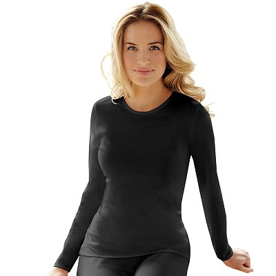 Cuddl Duds Softwear Tailored Top - Women's Plus