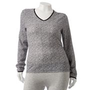 Cuddl Duds Softwear Lace-Trim Top - Women's Plus
