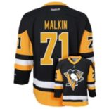 Boys 8-20 Reebok Pittsburgh Penguins Evgeni Malkin NHL Replica Jersey