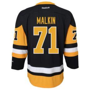 Boys 8-20 Reebok Pittsburgh Penguins Evgeni Malkin NHL Replica Jersey