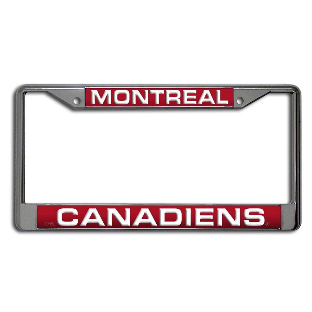 Montreal Canadiens License Plate Frame