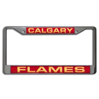 Calgary Flames License Plate Frame