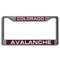 Colorado Avalanche License Plate Frame