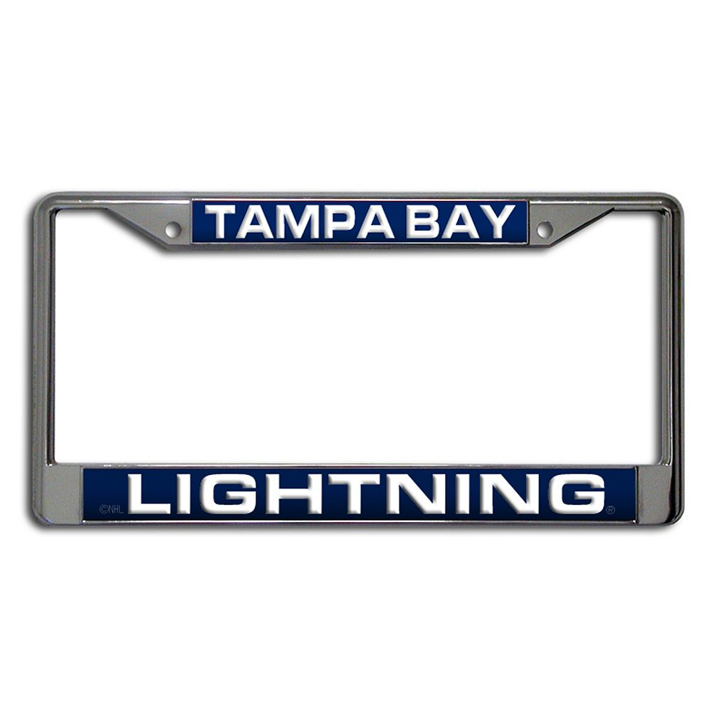 Tampa Bay Lighting License Plate Frame