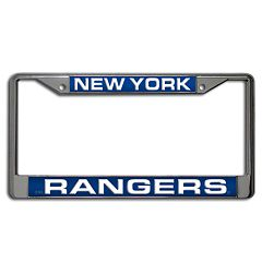 New York Rangers License Plate Frame