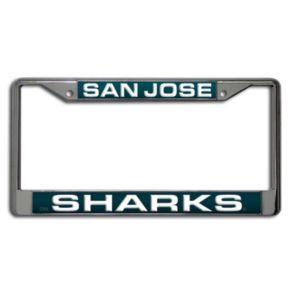 San Jose Sharks License Plate Frame