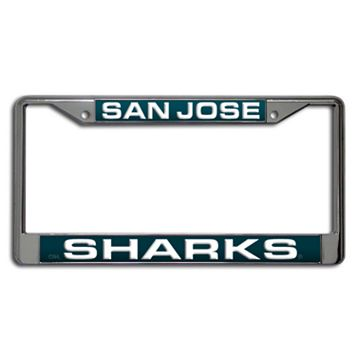 San Jose Sharks License Plate Frame