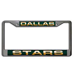 Dallas Stars License Plate Frame