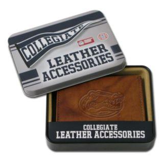 Florida Gators Embossed Leather Bifold Wallet