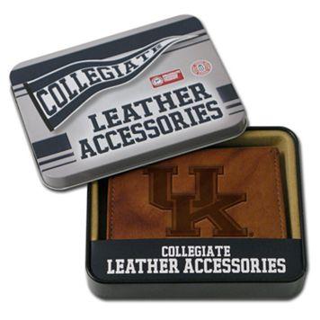 Kentucky Wildcats Leather Bifold Wallet