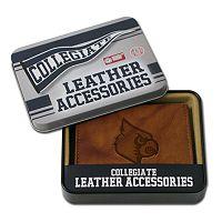 Louisville Cardinals Leather Bifold Wallet