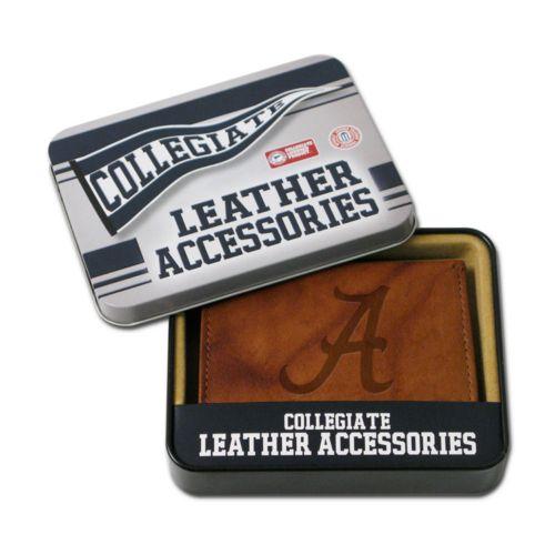 Alabama Crimson Tide Leather Bifold Wallet
