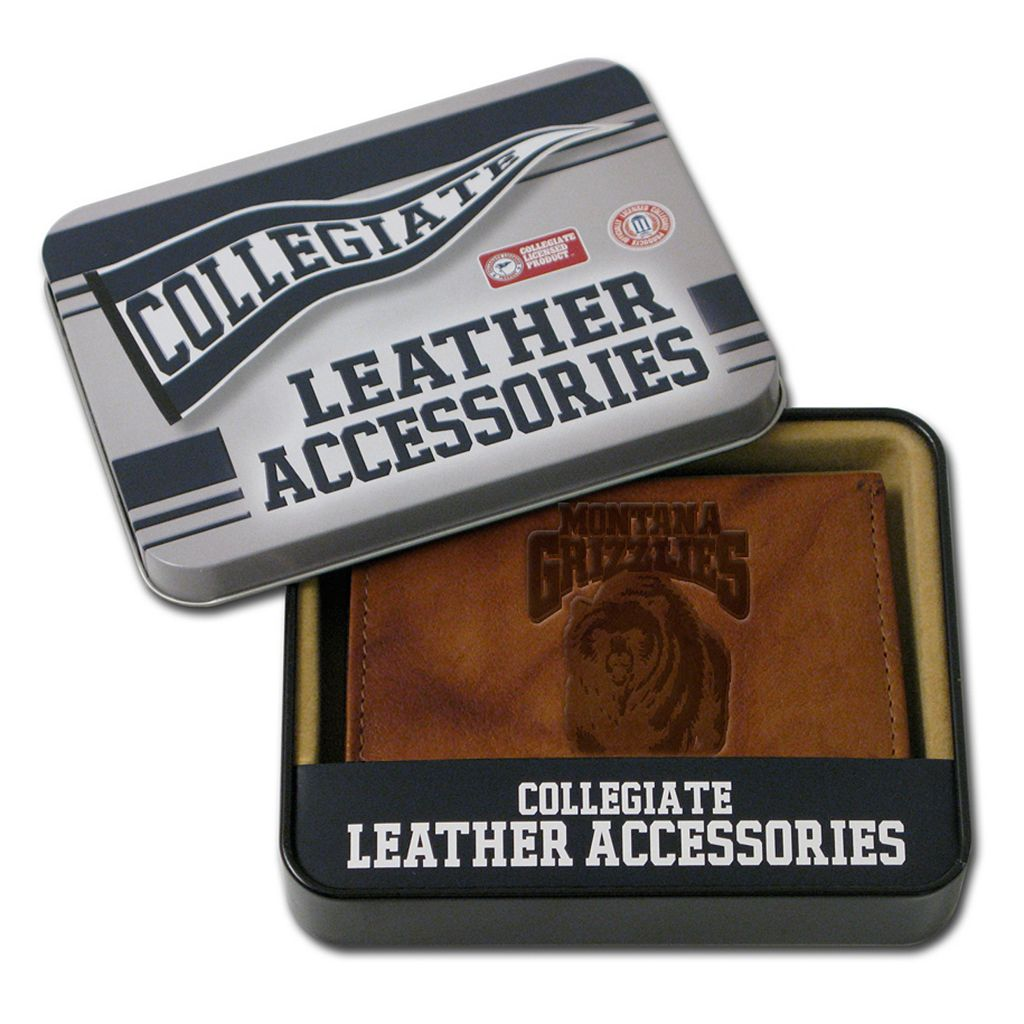 Montana Grizzlies Leather Bifold Wallet