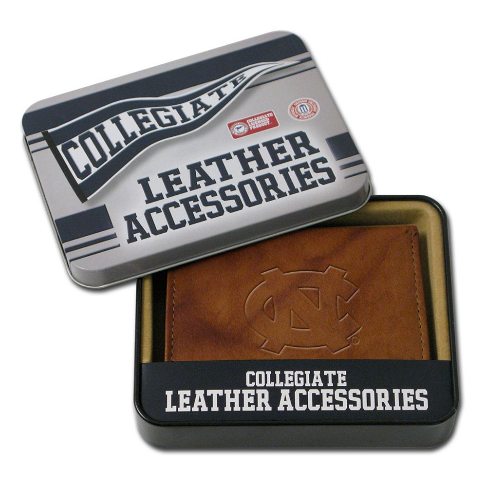 North Carolina Tar Heels Leather Bifold Wallet