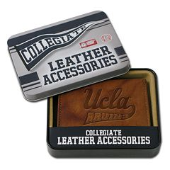 UCLA Bruins Leather Bifold Wallet