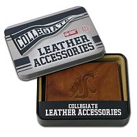 Washington State Cougars Leather Bifold Wallet