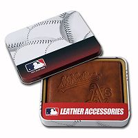 Oakland Athletics Leather Bifold Wallet