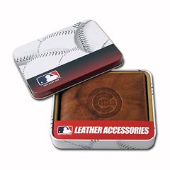 Chicago Cubs Leather Bifold Wallet