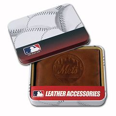 New York Mets Leather Bifold Wallet