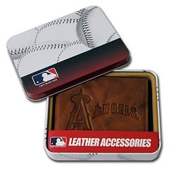 Los Angeles Angels of Anaheim Leather Bifold Wallet