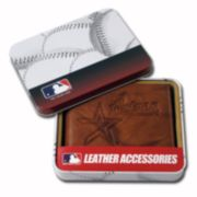 Houston Astros Leather Bifold Wallet