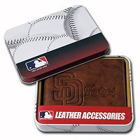 San Diego Padres Leather Bifold Wallet