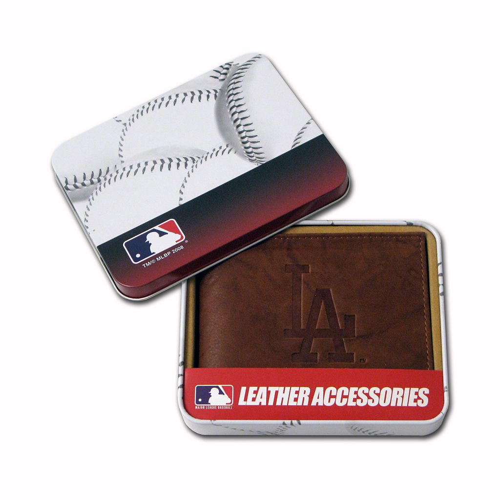 Los Angeles Dodgers Leather Bifold Wallet