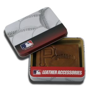 Pittsburgh Pirates Leather Bifold Wallet