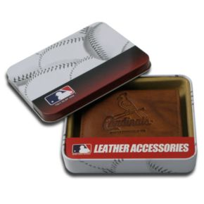 St. Louis Cardinals Leather Bifold Wallet