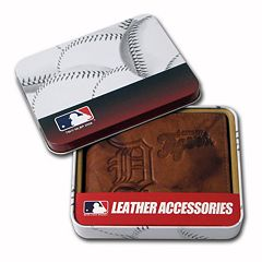 Detroit Tigers Leather Bifold Wallet