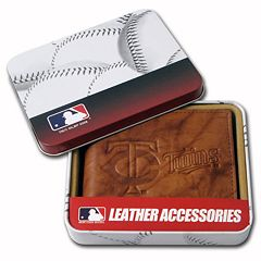 Minnesota Twins Leather Bifold Wallet