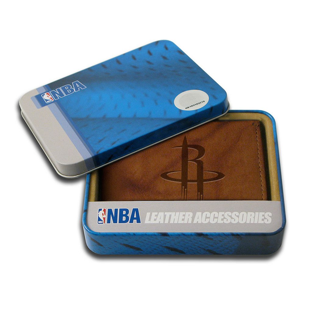 Houston Rockets Leather Bifold Wallet